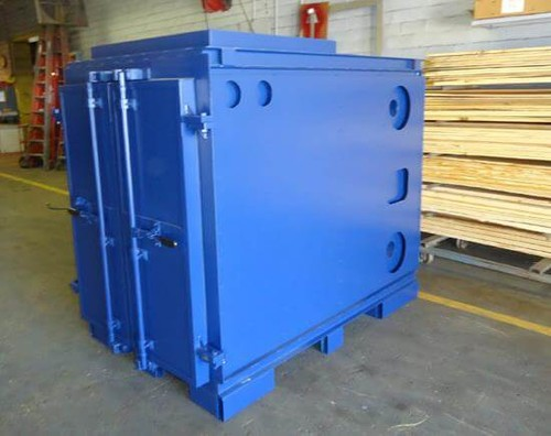 Custom Furnace for European Stackers