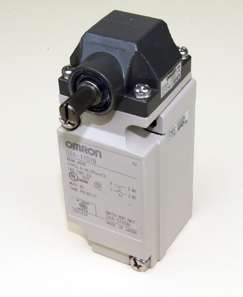 Door Switch Only, Omron D4A-1101N