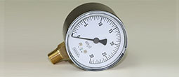 "Gas Pressure Gauge 0 To 30"" W.C."